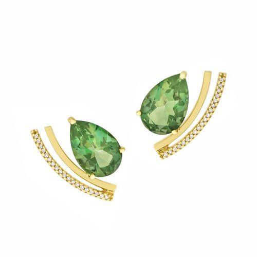 Ear-cuff-Topazio-verde-gota