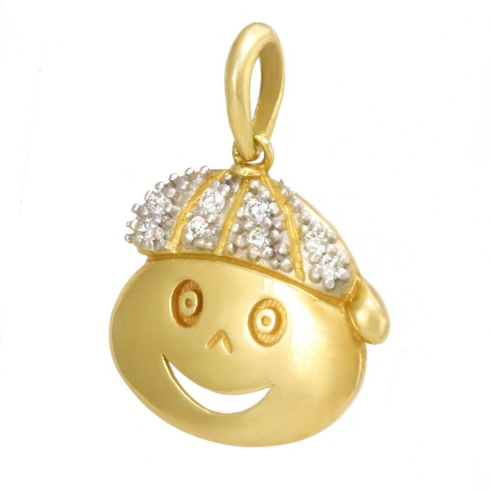 7638ead90ee7e Pingente em Ouro e Diamante - BIGBEN