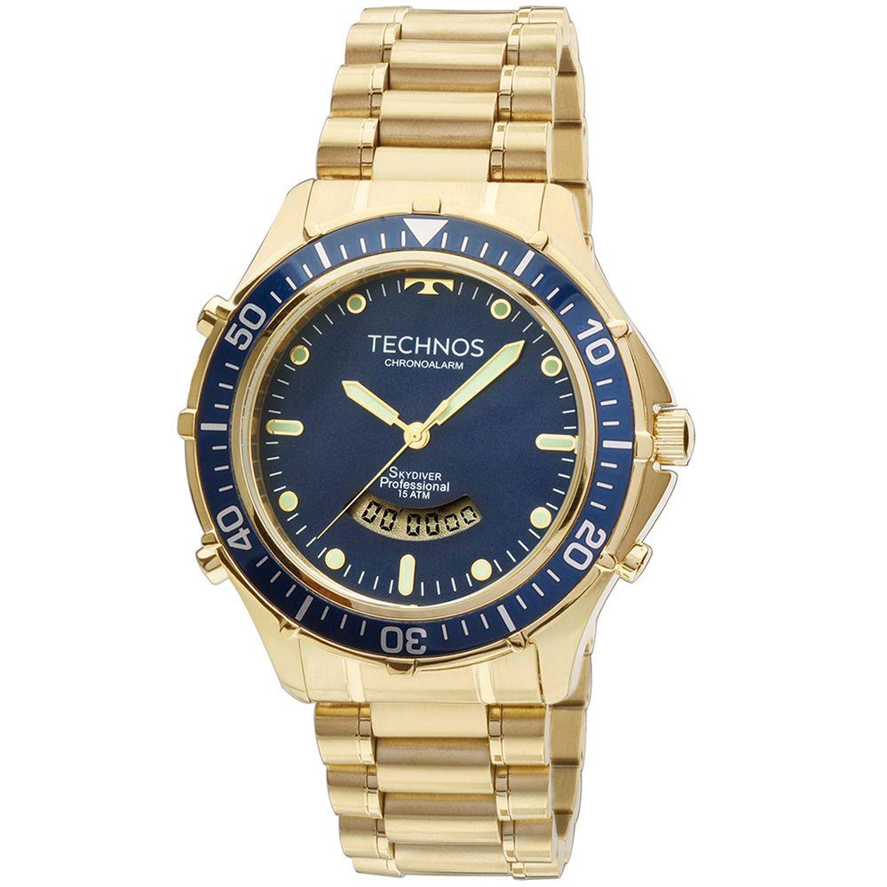 45a56981fa4 Relógio Technos Skydiver - BIGBEN