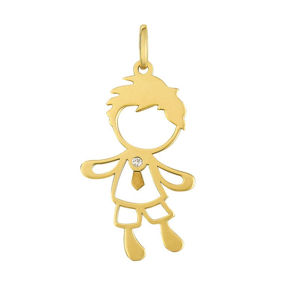 519e5b7d22 Pingente em Ouro e Diamante - BIGBEN